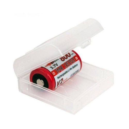 Estuche seguridad para dos baterías 18350