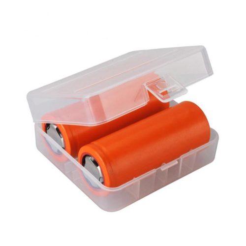 estuche baterias 26650