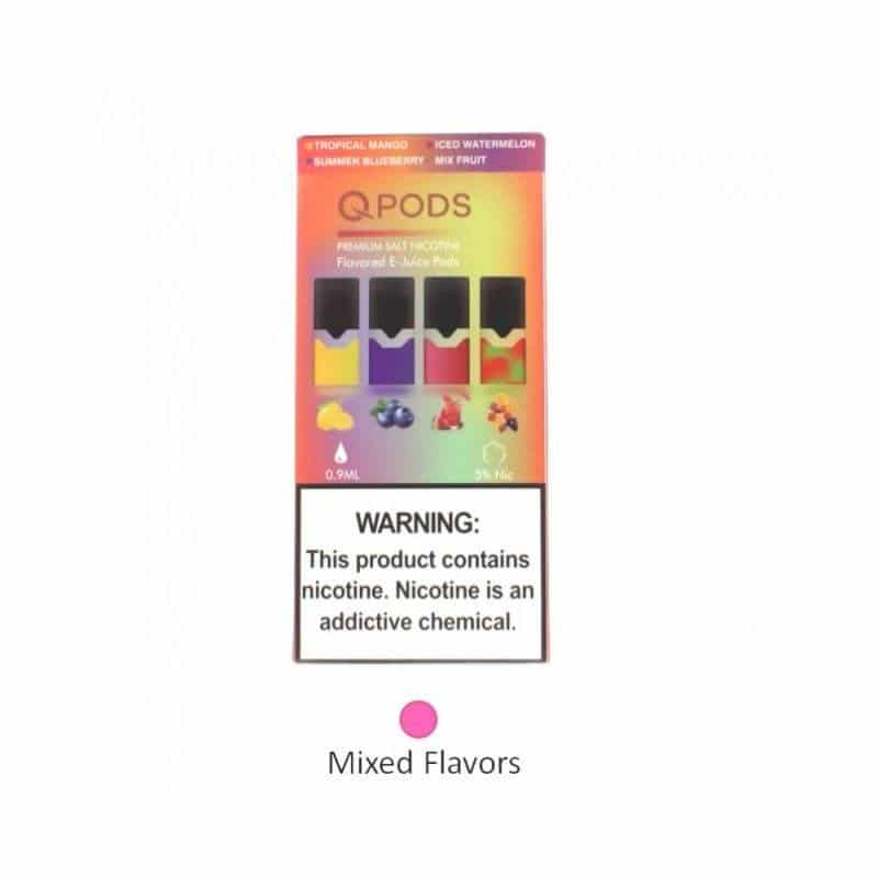 QPODS sabores mixtos compatible con juul