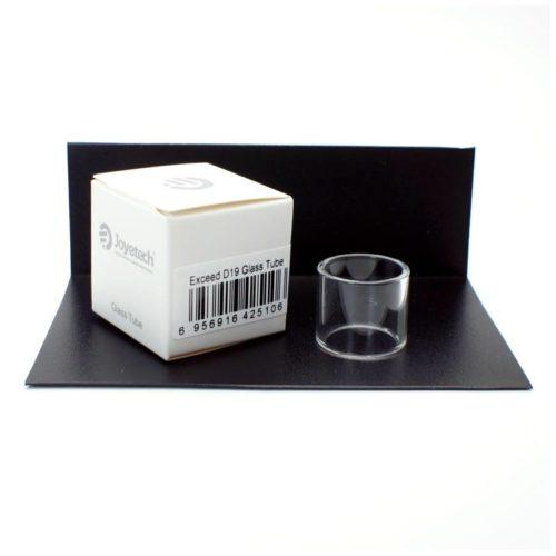 joyetech exceed d19 tubo de repuesto cristal vidrio