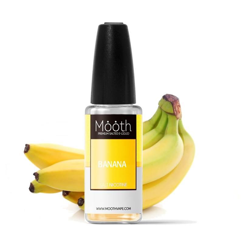 liquido para vapear nic salt mooth plátano