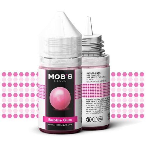 bubble gum eliquid mobs