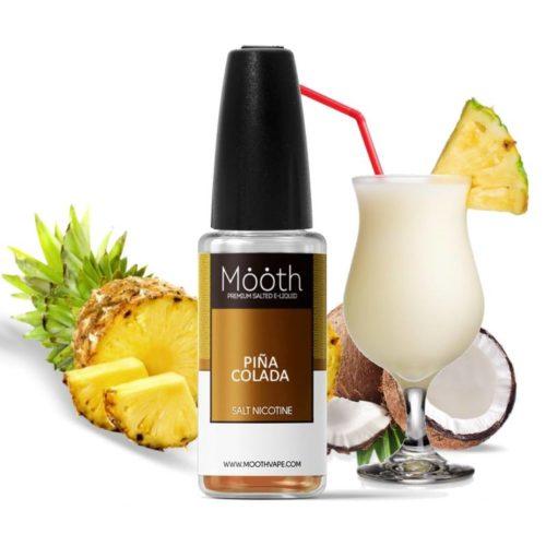 mooth nic salt eliquid piña colada