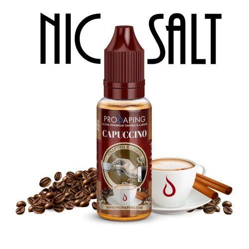 Capuccino nic salt e-liquid provaping mexico