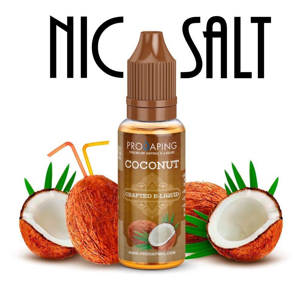 coconut nic salt eliquid provaping