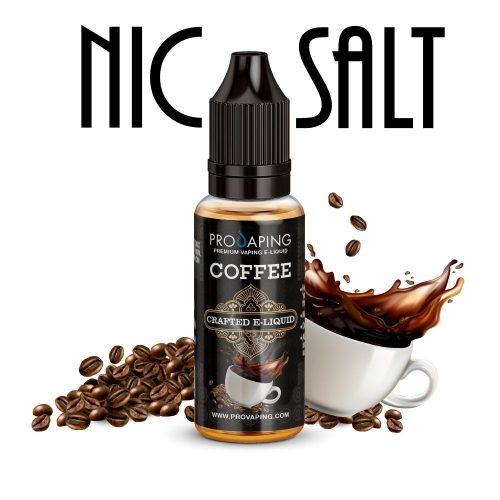 Cafe nic salt eliquid provaping