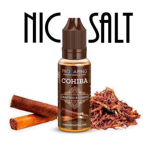 Cohiba Nic Salt eliquid Provaping