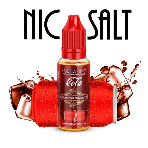 Cola flavor nic salt eliquid provaping
