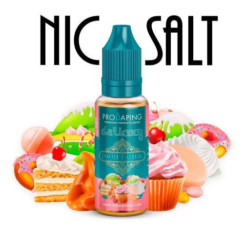 Delicacy nic salt eliquid provaping