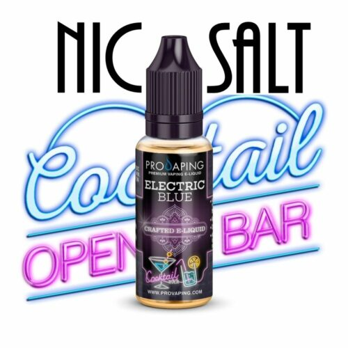 Electric blue nic salt eliquid provaping