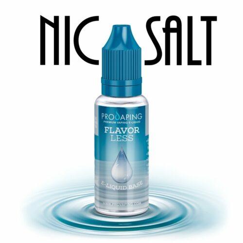 flavorless nic salt eliquid provaping