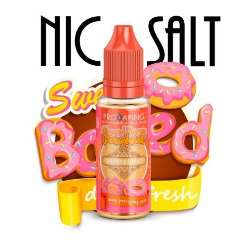 Glazed Berry Doughnut Nic Salt e-liquid Provaping