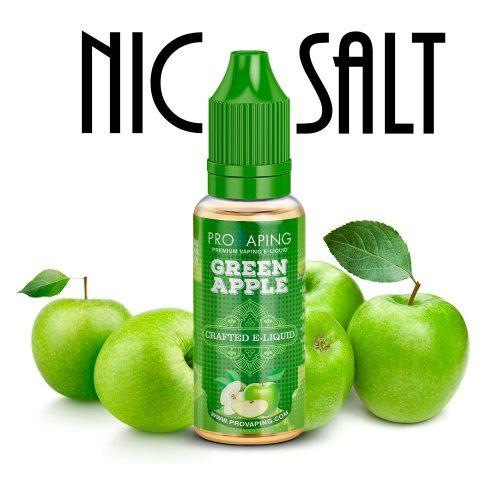Green Apple Nic salt eliquid provaping