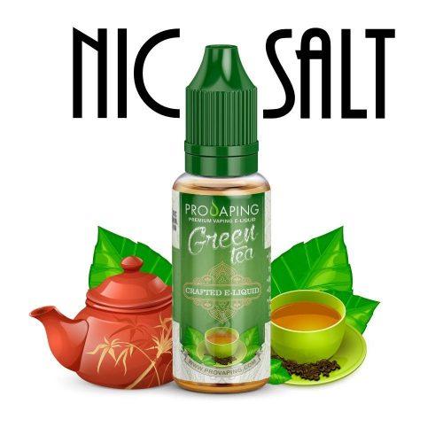 Green Tea Nic Salt e-liquid Provaping