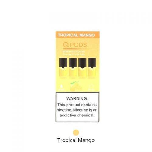 Pods compatible con juul qpods sabor mango tropical