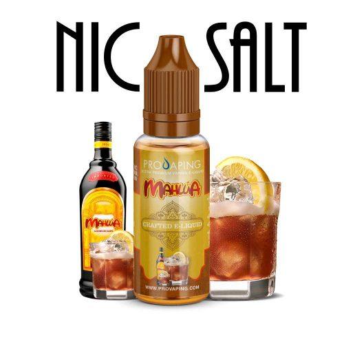Kahlua flavor nic salt eliquid Provaping