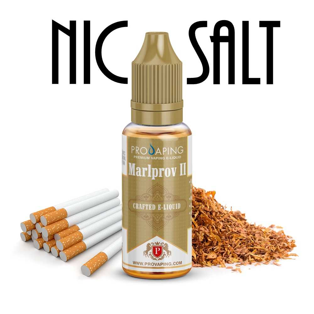 Marlprov 2 eliquid Nic Salt Provaping