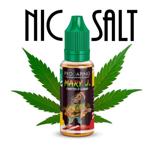 Mary J Nic Salt eliquid Provaping