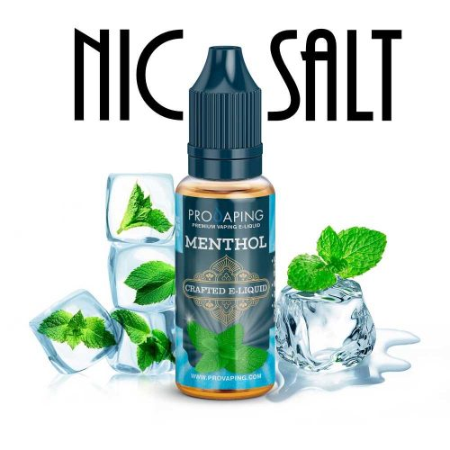 Menthol Nic Salt eliquid Provaping