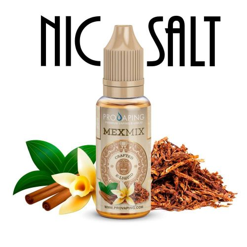 MexMix Nic salt Eliquid Provaping