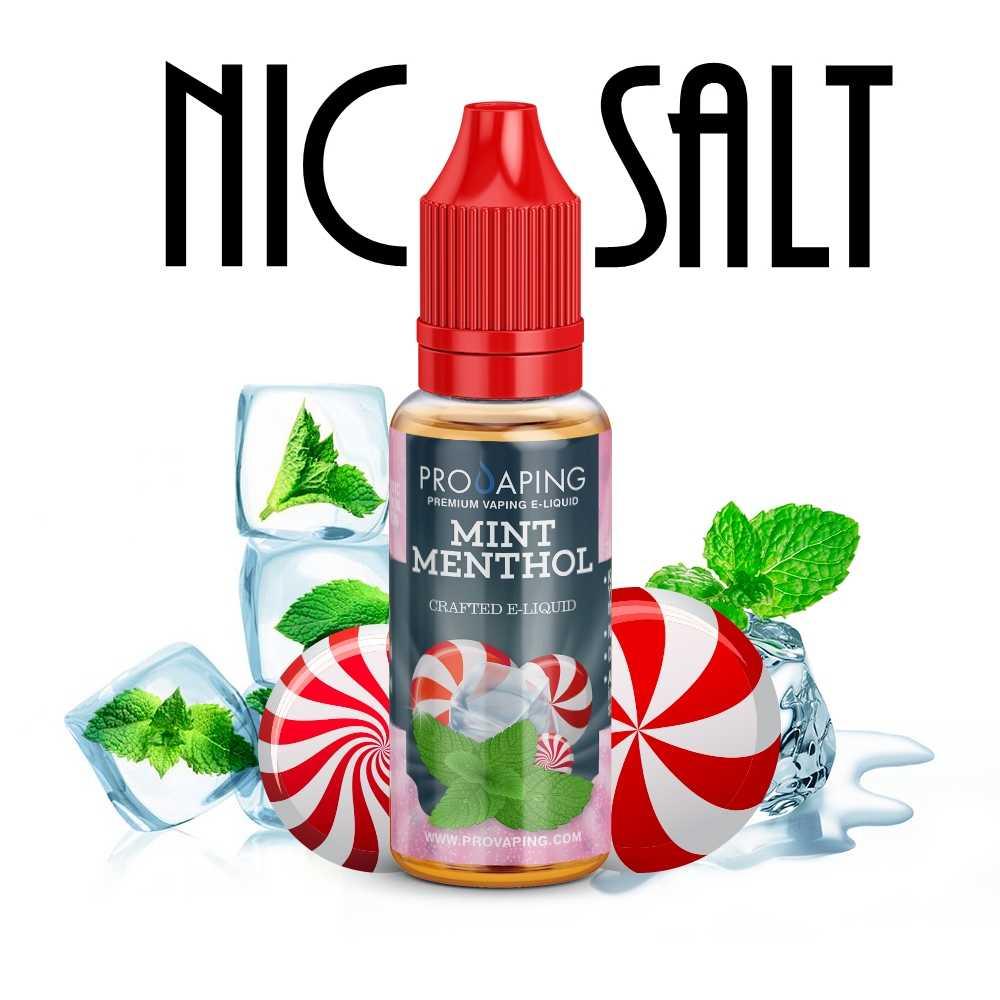 Mint Menthol Nic Salt Provaping eliquid