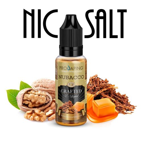 Nubacco Nic Salt Provaping e-liquid