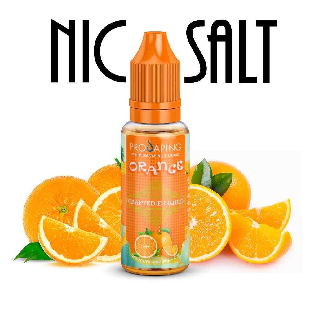 Orange Naranja Nic Salt eliquid Provaping Mexico