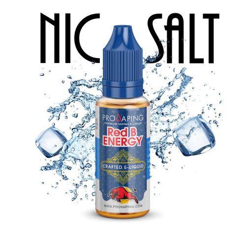 Red B Energy Nic Salt e-liquid Provaping