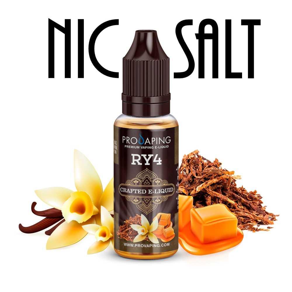 RY4 Nic Salt e-liquid Provaping Mexico