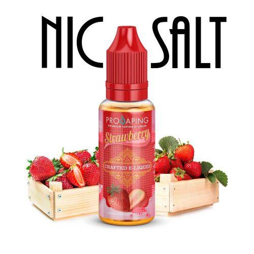 Strawberry Fresa Nic Salt e-liquid provaping Mexico