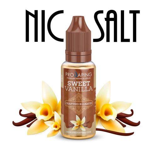 Sweet Vanilla Vainilla dulce Nic Salt e-liquid provpaing Mexico