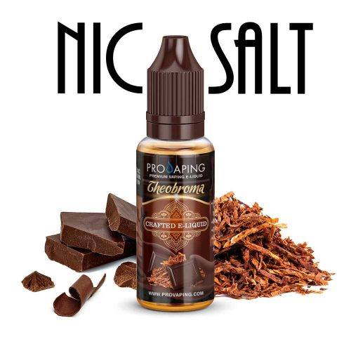 theobroma Chocolate nic salt eliqud provaping mexico