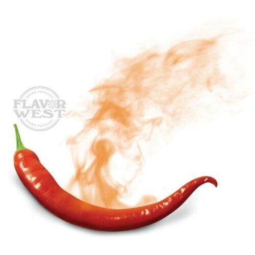 Saborizante concentrado pimiento picante para vapear e-liquid de flavor west