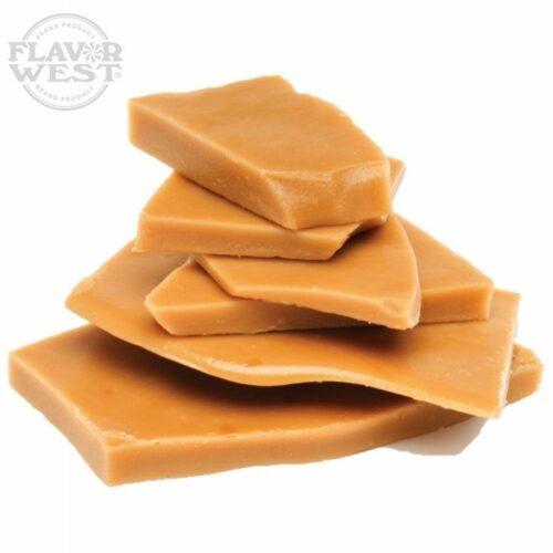 saborizante concentrado butter toffe de flavorwest para e-liquid