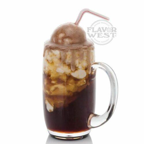 Saborizante concentrado root beer float de flavor west para e-liquid